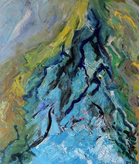 'Life' Acryl on canvas (100x120 cm) 2011 (A)