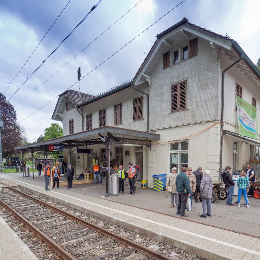 ZMB - Bahnhof Sihlwald-155