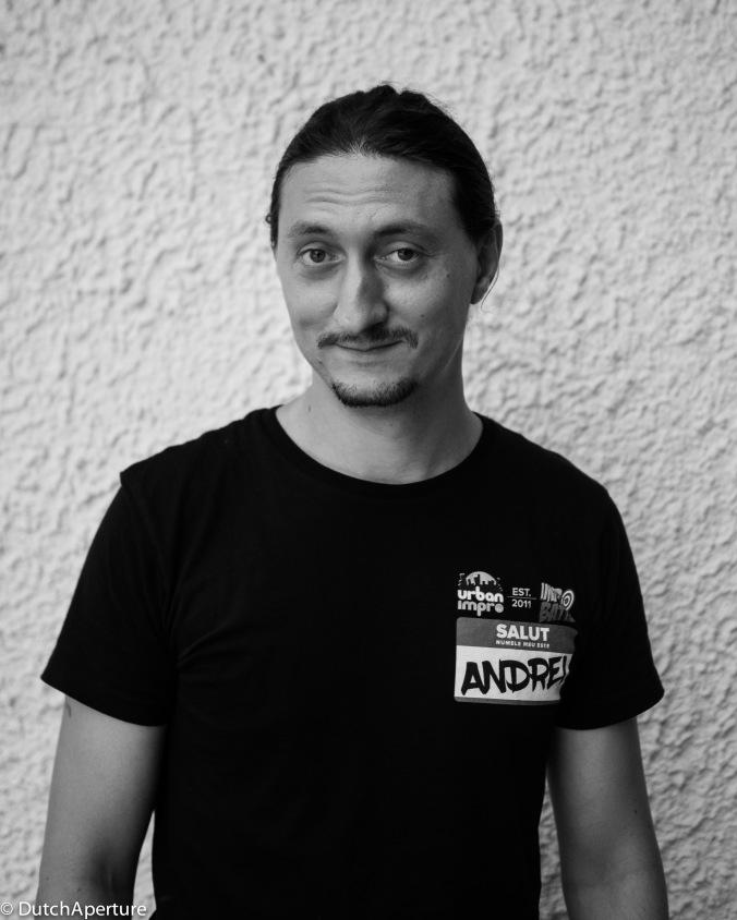 Andrei Bratu - Actor & Improv Theatre Organizer